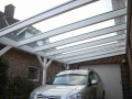 Carport in Holz-Aluminium