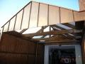 Carport mit Doppelstegplatten