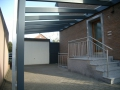 Carport Holz/Aluminium