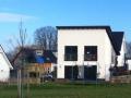 Neubau einer Pultdach DHH: Die Bauherren sind eingezogen