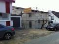 Neubau einer Pultdach DHH: Rohbau mit geschlossenen und verputzten Wänden