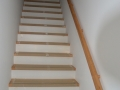 Holzrahmenbauweise schlüsselfertig  - Beispiel Innentreppe