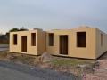 Aufbau - Neubau Holzrahmenhaus