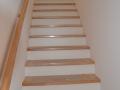 Beispiel Treppenaufgang schlüsselfertig Neubau Holzrahmen EG-OG