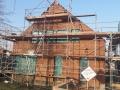 Einfamilienhaus in Holzrahmenbauweise/Dacheindeckung