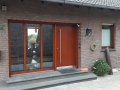 Meranti Holzhaustür und Holzfenster IV 78