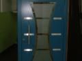Holzhaustüren Meranti mit Glasausschnitt