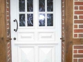 Haustür Meranti IV 68 mit Kassettenfüllung, Glasleisten profiliert