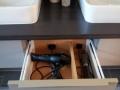 Waschtischmöbel, Sonderlösung für Fön