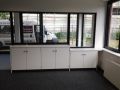 Fachanlage im Firmen Eingangsbereich einer Spedition