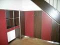 Einbauschrank unter Treppenbereich