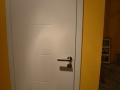 Zimmertürelement in weiß