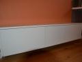 Sideboard in weißlack