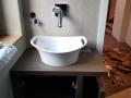 Waschtisch Eiche gebeizt