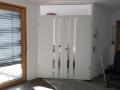 2-flügelige Zimmertüren mit Lichtausschnitt und Oberlicht
