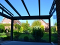 Aluminium Terrassendach Innenansicht