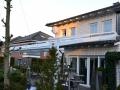 Aluminium Terrassendach auf vorhandenem Hausdach aufgeständert
