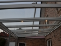 Aluminium Terrassendach mit integrierter Beleuchtung