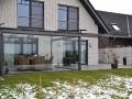 Aluminium Terrassendach mit Freisitz