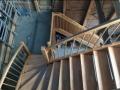 Buche-Massiv Treppe