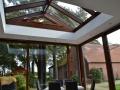 Innenraumfoto Holz/Aluminium Wintergarten