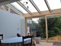 Innenansicht Wintergarten Holz-/Aluminium