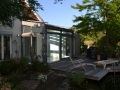 Holz-/Aluminium Wintergarten, Verkleidung bestehende Garage