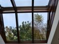 Innenansicht Wintergarten - Satteldach Lichtkuppel
