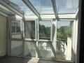 Wintergarten Meranti, Kunststoff-Unterelemente