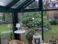 Holz-Aluminium Wintergarten/Innenansicht