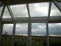 Wintergartendach mit Glas / geschlossener Decke