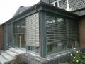 Wintergarten Holz/Aluminium mit Raffstore
